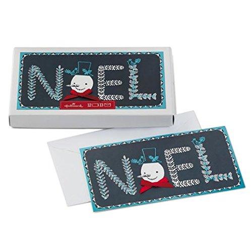 t Schneemann Gesicht Weihnachtskarten ()