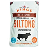Kings Elite Snacks Rib Eye luftgetrocknetes Biltong 300g
