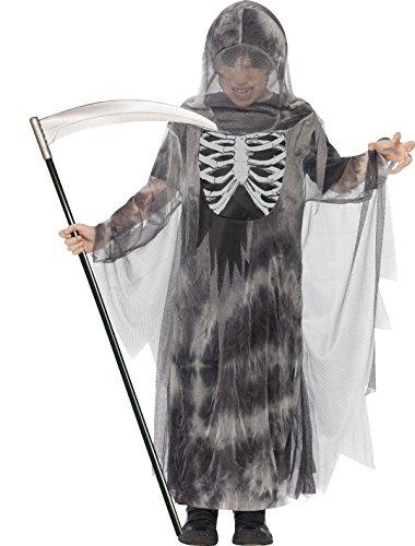 Ideen Kostüme Tween (Smiffys, Kinder Jungen Gruseliger Ghul Kostüm, Robe mit Kapuze, Größe: T (Alter 12+ Jahre),)