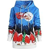 Geili Damen Weihnachten Pullover Kapuzenpullover Renntier Schneeflocke Drucken Hoodie Langarm Sweatshirt Kapuzenpulli... preisvergleich bei billige-tabletten.eu