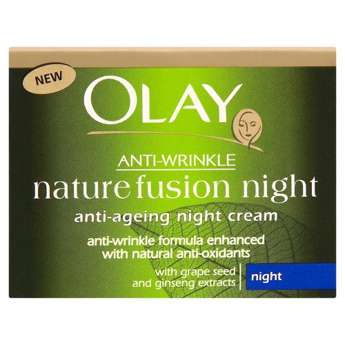 Anti-Wrinkle de Olay Creme de Nuit - Fusion de la Nature 50ml