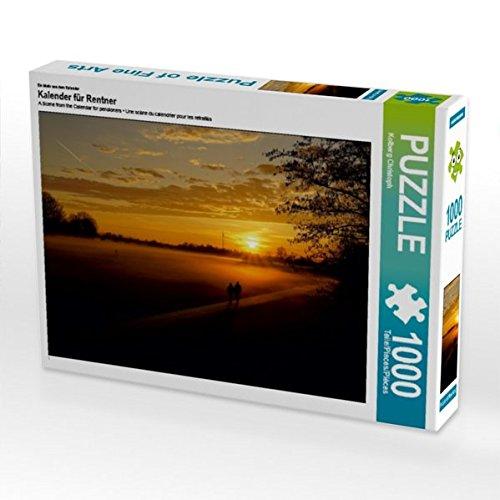Ein Motiv aus dem Kalender Kalender für Rentner 1000 Teile Puzzle quer