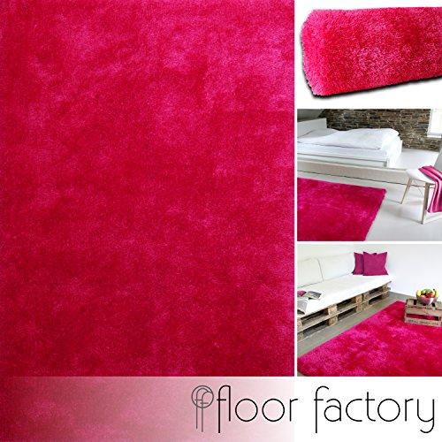 Floor factory Alfombra Moderna Seasons rosa fucsia