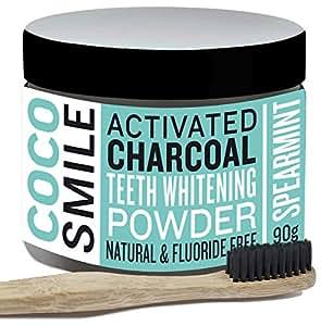 charbon actif poudre de blanchiment des dents au charbon actif activated charcoal teeth. Black Bedroom Furniture Sets. Home Design Ideas