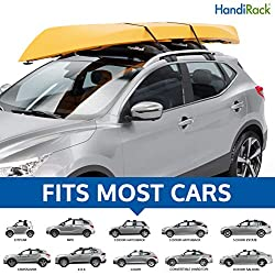 HandiRack - Universal Inflatable roof rack bars (Black) - Rooftop cargo carrier - Fits most cars