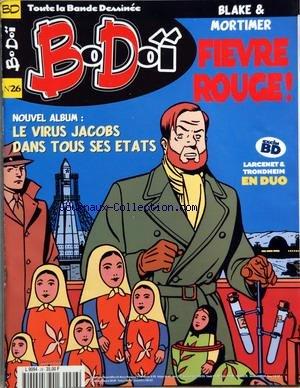 BO DOI [No 26] du 01/01/2000 - LE MEILLEUR DE LA BANDE DESSINEE - BLAKE ET MORTIMER - LARCENET ET TRONDHEIM EN DUO - JUILLARD - LES SHADOCKS