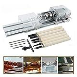 TopDirect 24V 80W Mini Perlen Maschine Mini Drehmaschine DIY Holzbearbeitung zur Holz DIY Lathe