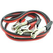 MasterStor salto conduce Booster Cables con pesados pinzas recubiertas de Zinc para los coches Diesel, Jump Start vehículos, coches, camionetas con baterías planas (Paquete de 1)