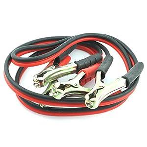 MasterStor Salto Conduce Booster Cables con Pesados Pinzas recubiertas de Zinc para los Coches Diesel, Jump Start…