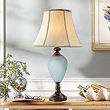 ZYCkeji Modern Europäischen Milchglas Prozess Dekorative Tischlampe Wohnzimmer Studie Schlafzimmer Nachttischlampen E27