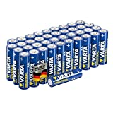 Varta Industrial Batterie AA Mignon Alkaline Batterien LR6-40er Pack, Made in Ge...