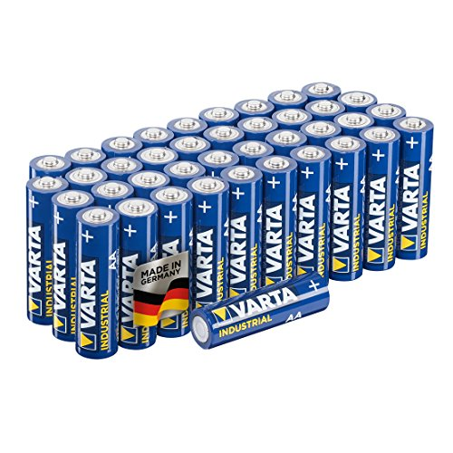 Varta Industrial Batterie AA Mignon Alkaline Batterien LR6-40er Pack, Made in Germany, umweltschonende Verpackung (Industrial Controller)