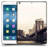 Ufficiale Haroulita Brooklyn Bridge 2 Luoghi 2 Cover Retro Rigida per Apple iPad Air