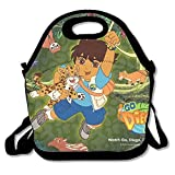 Go Diego Go Chinta The Baby Chincilla Travel Tote Lunch Bag