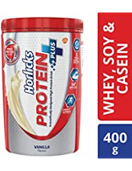 Horlicks Protein+ Health and Nutrition Drink Pet Jar - 400 g (Vanilla)