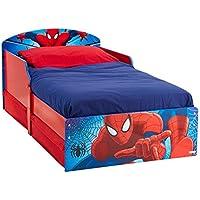 Worlds Apart 516SPA HelloHome Il Lettino di Spiderman con Pratici Cassetti Sotto il Letto, MDF, Rosso e Blu - Arredamento - Confronta prezzi