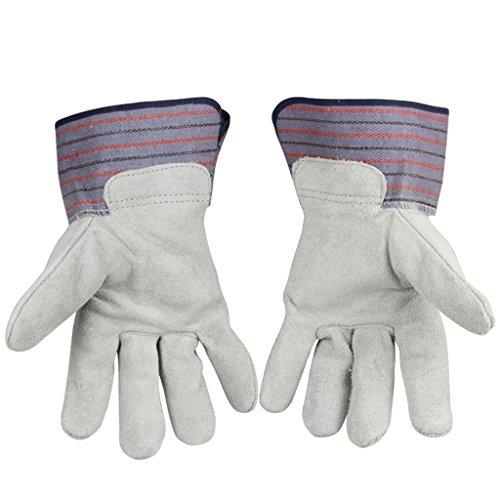 Schutzhandschuhe Atmungsaktive Strapazierfähige Einfache Schweißung Isolierende Industriehandschuhe,XL