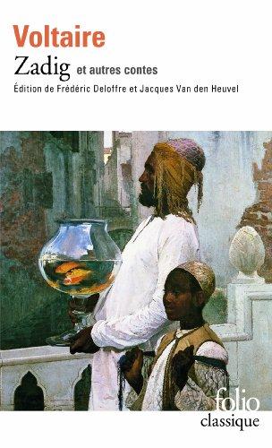 Romans et contes, I:Zadig et autres contes (Folio) por Voltaire