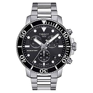 Tissot Reloj Cronógrafo para Hombre de Cuarzo con Correa en Acero Inoxidable T1204171105100