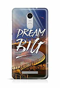YuBingo Dream BIG Designer Mobile Case Back Cover for Xiaomi Redmi Note 3