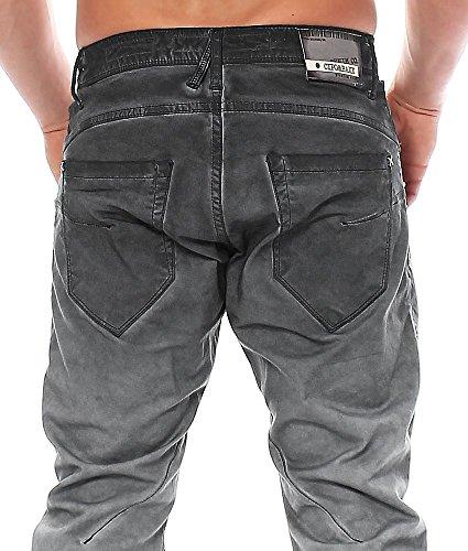 Cipo & Baxx Homme Jeans / Jeans Straight Fit Kemi Grau