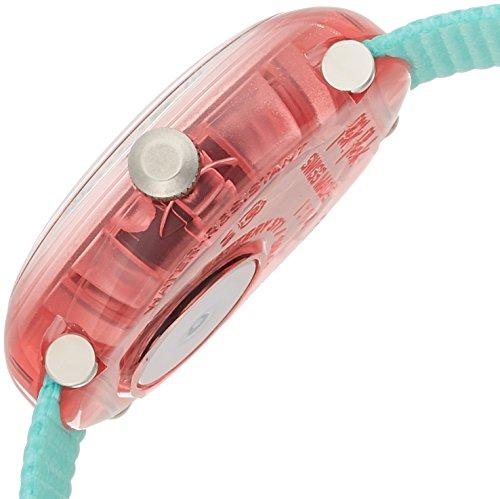 Flik Flak Mädchen Analog Quarz Uhr mit Stoff Armband FPNP020 - 3