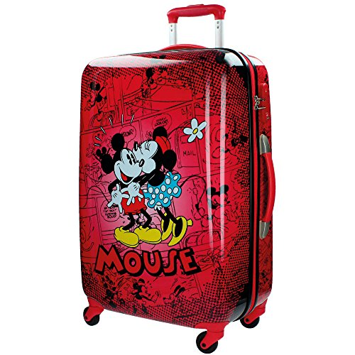 Disney Retro Comic Red Kindergepäck, 67 cm, 64 liters, Rot (Rojo)