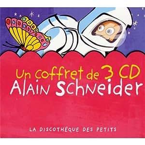 Coffret 3 CD : Alain Schneider