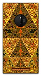 The Racoon Grip Sacred geometry hard plastic printed back case / cover for Nokia Lumia 830