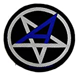 Anthrax - Pentagram Aufnäher/Patch | Badge Flicken Rocker Kutte Biker-Weste