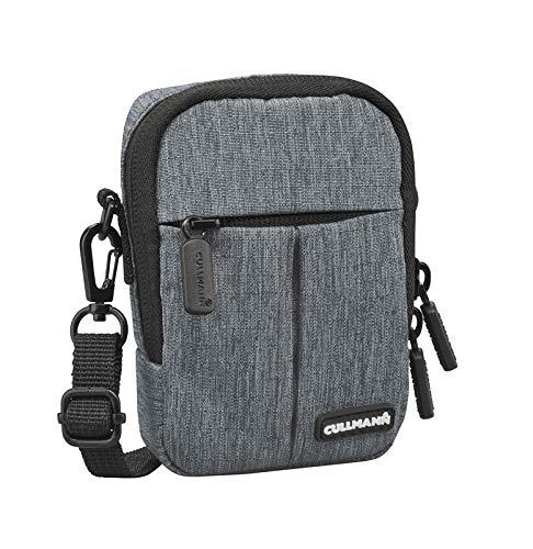 """Cullmann Malaga Kompakt """"200"""" Kameratasche für Kompaktkamera, 7 x 10 x 3 cm Grau"""