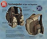 Systemjacke / Back-Chest Pack (Rucksack & Bauchtasche)