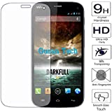 Guran® Protector de Pantalla Vidrio Cristal Templado Para Wiko Darkfull Smartphone Film