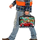 Personalised Graffiti Race Car St465 Large Work Lunch Bag Cool Box Insulated Dad Gift