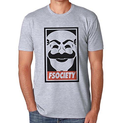 Mr Robot F Society Large Homres T-Shirt