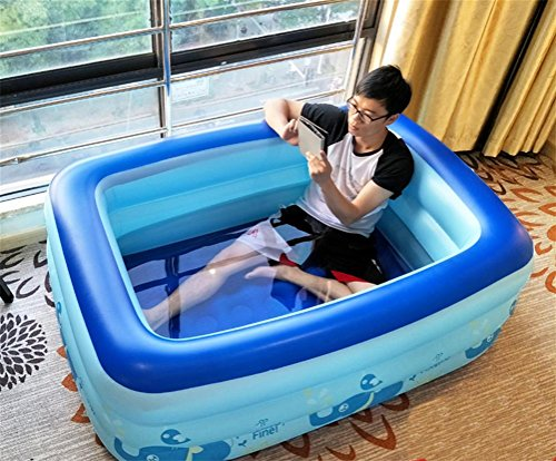 Vasca Da Bagno Gonfiabile Per Bambini : Facai bagno gonfiabile doppio tubo spazzolato piumino