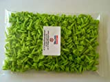 SUPER SAVER PACK of 75 BULLDOG GOLF TEES:26mm LIME GREEN PLASTIC CASTLE TEES