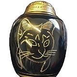 Schöne Handgefertigt Pet Urne für Katzen 063