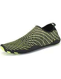 SAGUARO® Barefoot Aqua Water Shoes Beach Swimming Quick Drying Slip On Yoga Shoes Skin Socks for Unisex