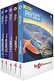 Std 11 Perfect PCM Books (Physics, Chemistry and Maths) Combo | FYJC Science Guide | Maharashtra State Board N