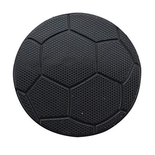 ZCP Auto Dekoration Fußball Muster Anti-Rutsch-Pad Auto Aufbewahrungsmatte große Handy Auto eingebaute Matte Auto Ornamente -