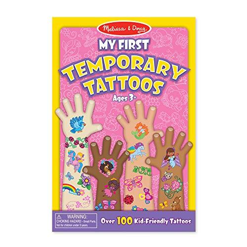 Melissa & Doug Meine ersten Klebe-Tattoos - Regenbogen, Feen, Blumen und mehr (100 Tattoos)