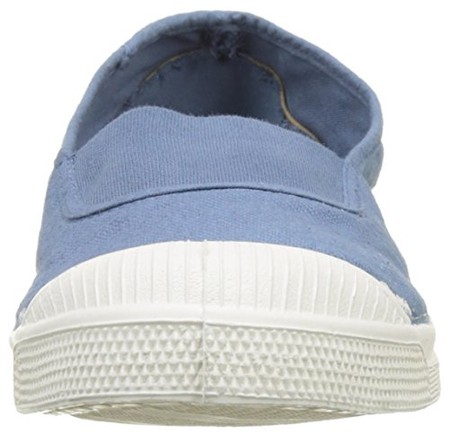 Bensimon Tennis Elastique, Baskets Basses Femme Bleu (Denim)
