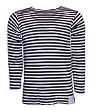 Ruso Telnyashka De rayas de marineros/De la marina Camiseta, A rayas azul marino y blanco, 46