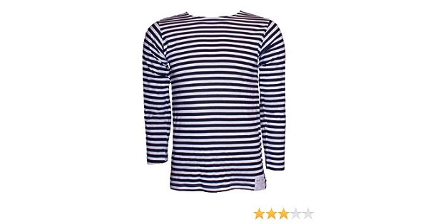 Russe Bleu Clair Authentique À Rayures parachutiste T-shirt Telnyashka Haut Toutes Les Tailles
