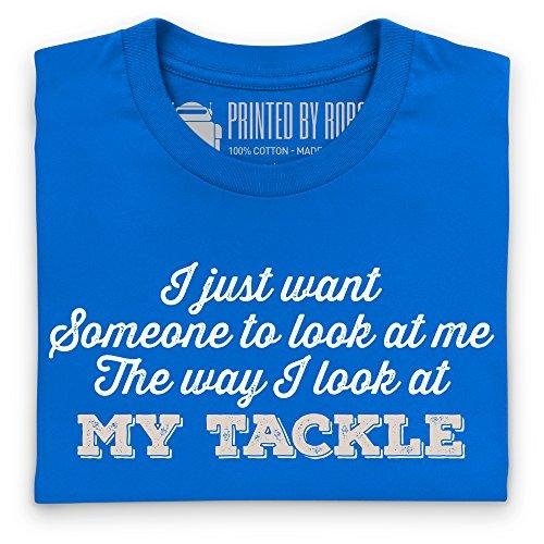 Fishing Tackle Desire T-shirt, Uomo Blu royal