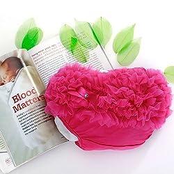 Generic Hot Pink Baby Girl Ruffle Panties Bloomers Diaper Cover S