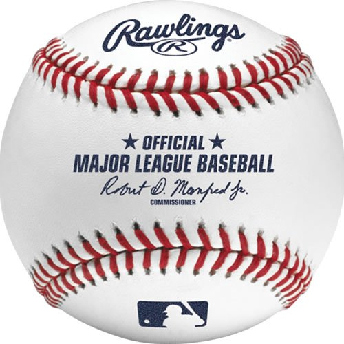 Rawlings Offizielle Major League Spiel Baseball-romlb, Set von 12