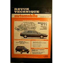 REVUE TECHNIQUE AUTOMOBILE RENAULT 25 V6 injection turbo limousine