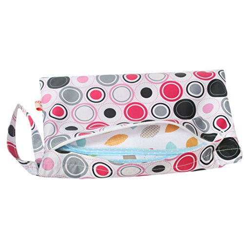 KF Baby Reisebett Wasserdicht Tuch Windel Wet Dry Tasche, kleinen groß Combo, Set von 3 Set3 A